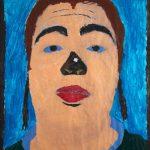 """Filipe Cerqueira, """"Sem título"""", 2008, Acrílico sobre fotocópia, 60x80 [INDISPONÍVEL / UNAVAILABLE]"""