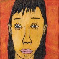 """Retrato da Mãe"", 2008, pastel de óleo sobre papel, 50x70cm [INDISPONÍVEL / UNAVAILABLE]"