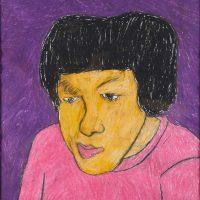 """""""Retrato de Teresa"""", 2008, pastel de óleo sobre papel, 50x70cm [INDISPONÍVEL / UNAVAILABLE]"""