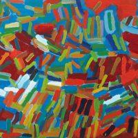 "Vitor Hugo Santos, ""Sem título"", 2010, Óleo sobre tela, 90x50 [INDISPONÍVEL / UNAVAILABLE]"