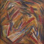 """Vitor Hugo Santos, """"Amor"""", 2015, Pastel de óleo sobre papel, 30x30 [INDISPONÍVEL / UNAVAILABLE]"""