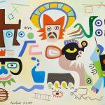 """""""Domador de Bichos"""", 2012, Óleo sobre tela, 80x60cm [INDISPONÍVEL / UNAVAILABLE]"""
