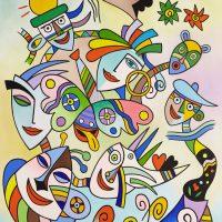 """O Circo"", 2011, óleo sobre tela, 70x90cm [INDISPONÍVEL / UNAVAILABLE]"