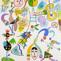 """Músico Sem Público"", 2010, óleo sobre tela, 80x100cm [INDISPONÍVEL / UNAVAILABLE]"