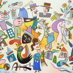 """""""Ida Para o Mercado"""", 2011, Óleo sobre tela, 100x80cm [INDISPONÍVEL / UNAVAILABLE]"""