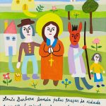 """História de Santa Bárbara III"", 2013, Óleo sobre tela, 40x50cm [INDISPONÍVEL / UNAVAILABLE]"