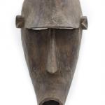 Máscara dogon macaco cubista, Dogon, séc. XX, Mali, Madeira, 17x35