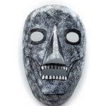 Óscar Barros, Máscara morte cinzas, 2013, Bragança, Metal, tintas, 15x22
