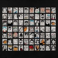 """Eduardo Santos, """"All People World"""", 2015, Acrílico sobre cartão, 100x87 [INDISPONÍVEL / UNAVAILABLE]"""